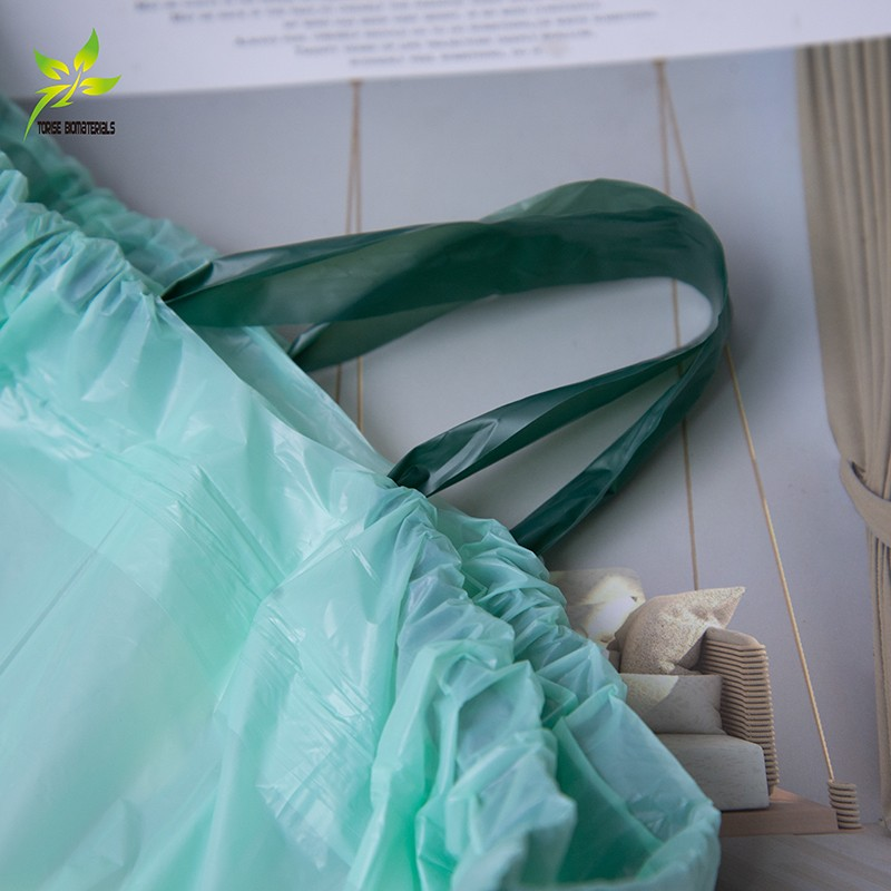 100% Biodegradable & Compostable Drawstring Garbage Bags