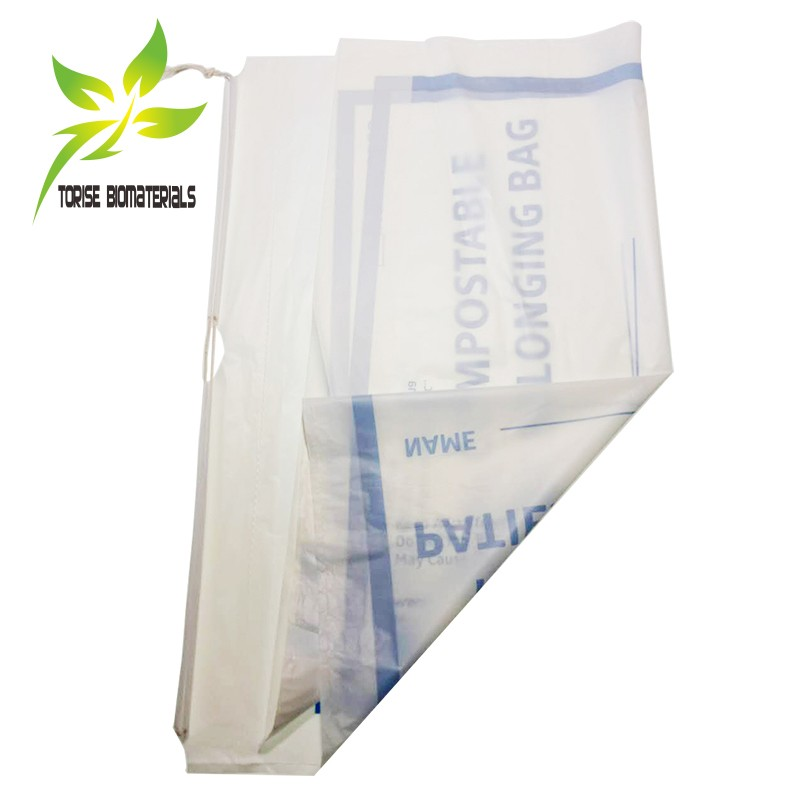 100% Biodegradable & compostable cotton rope drawstring bag